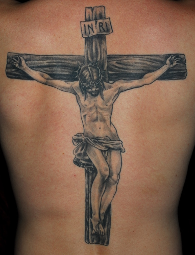 catholic cross tattoo roman catholic cross tattoos.